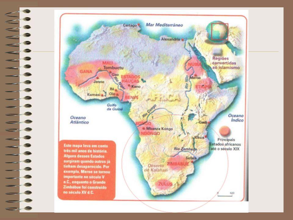 Antes dos europeus colonizarem a África no século XIX, várias nações autônomas já existiam.