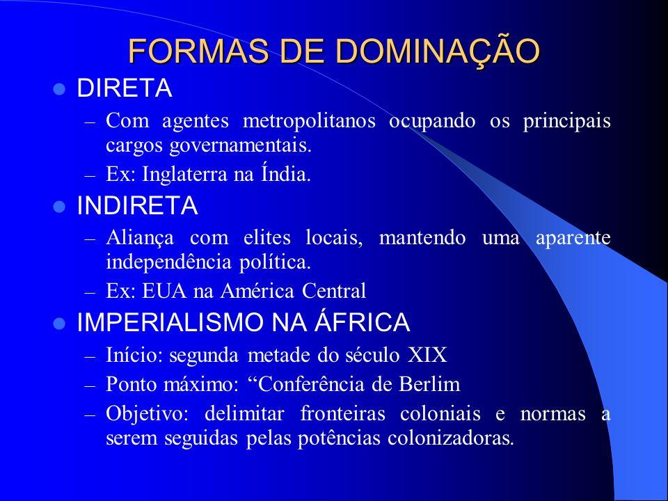 COLONIALISMO x NEOCOLONIALISMO COLONIALISMO : – Capitalismo Comercial (mercantilismo); – Objetivos: especiarias, produtos tropicais e metais preciosos