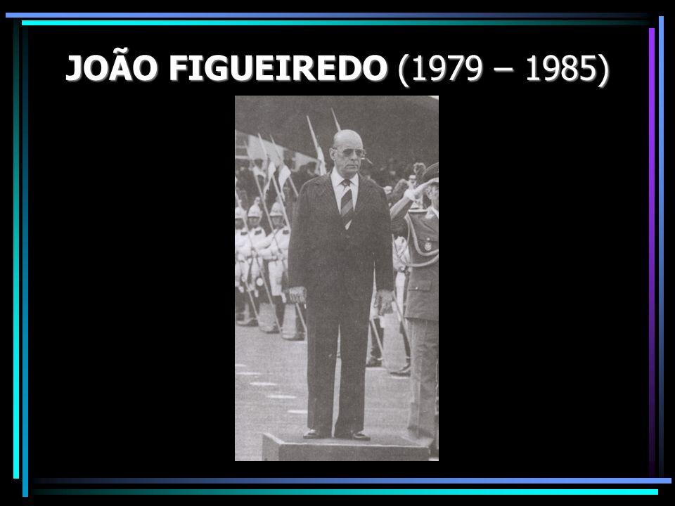JOÃO FIGUEIREDO (1979 – 1985)