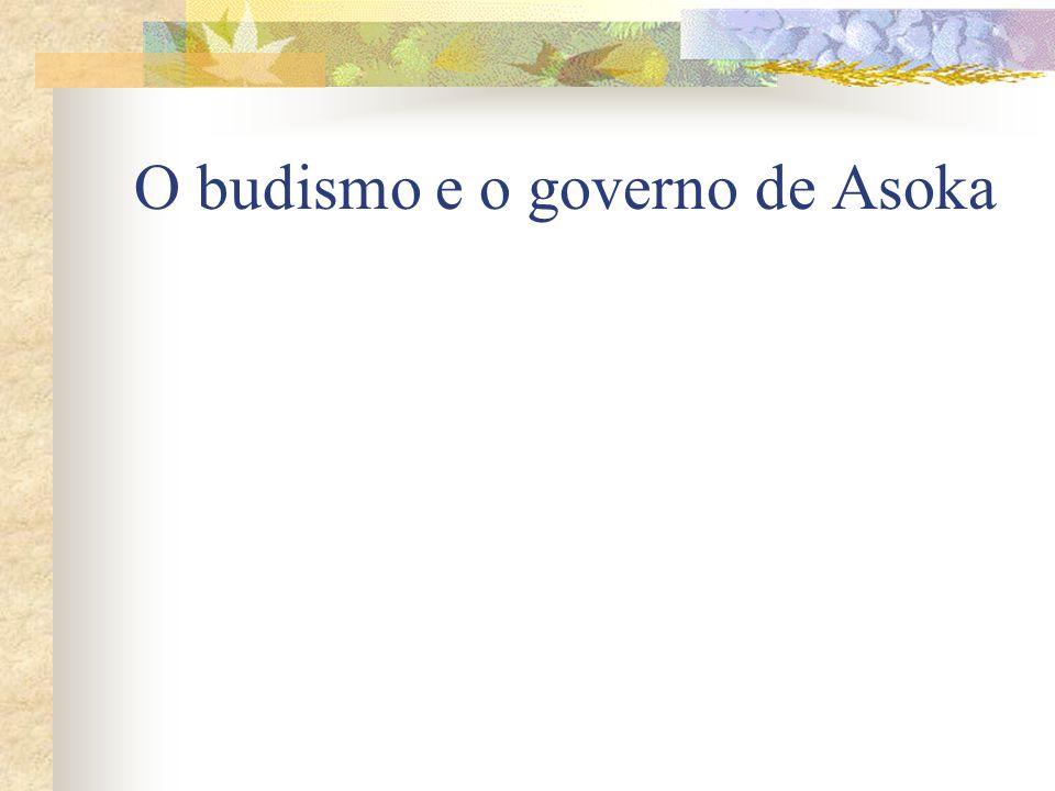 O budismo e o governo de Asoka
