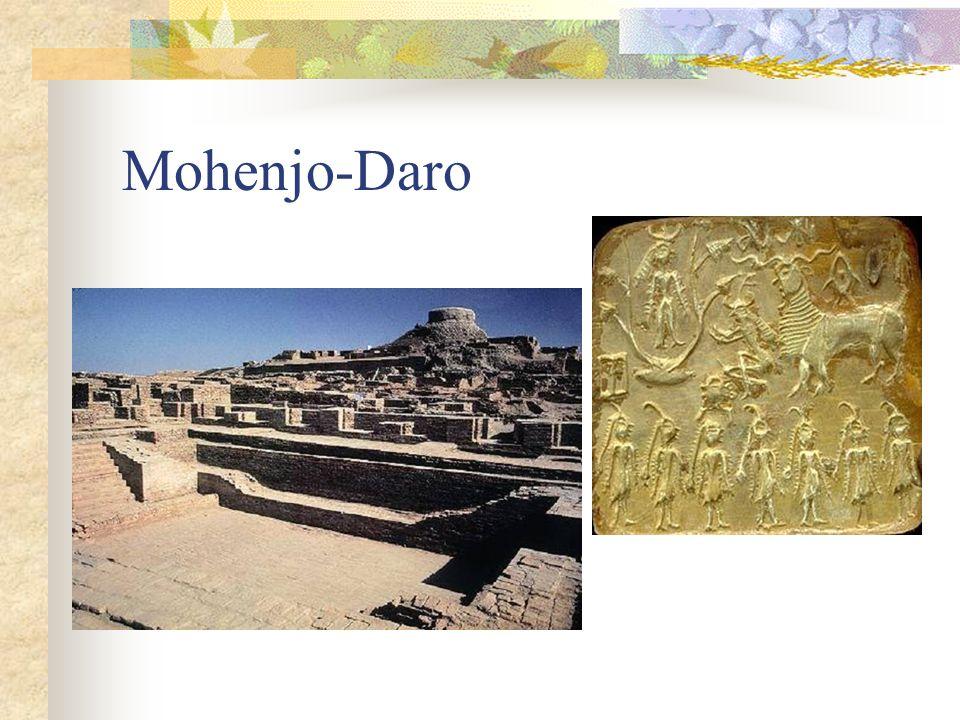 Agricultura e artesanato Agricultura era a base econômica da civilização.