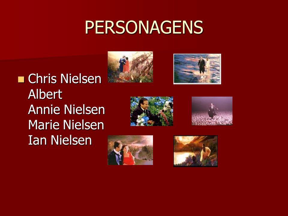 PERSONAGENS Chris Nielsen Albert Annie Nielsen Marie Nielsen Ian Nielsen Chris Nielsen Albert Annie Nielsen Marie Nielsen Ian Nielsen