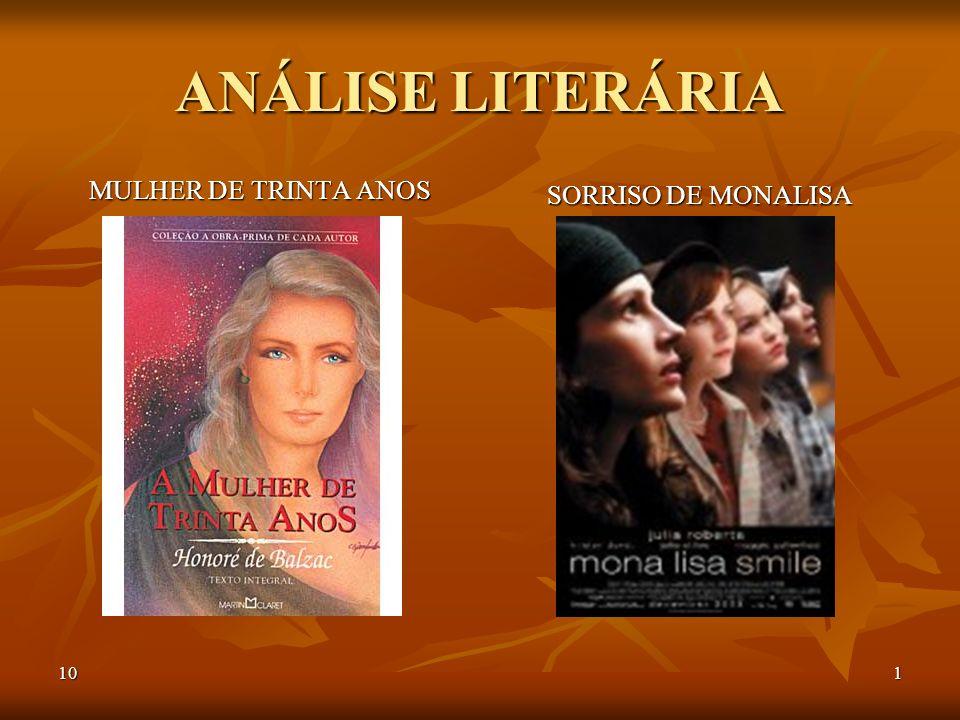 101 ANÁLISE LITERÁRIA MULHER DE TRINTA ANOS SORRISO DE MONALISA
