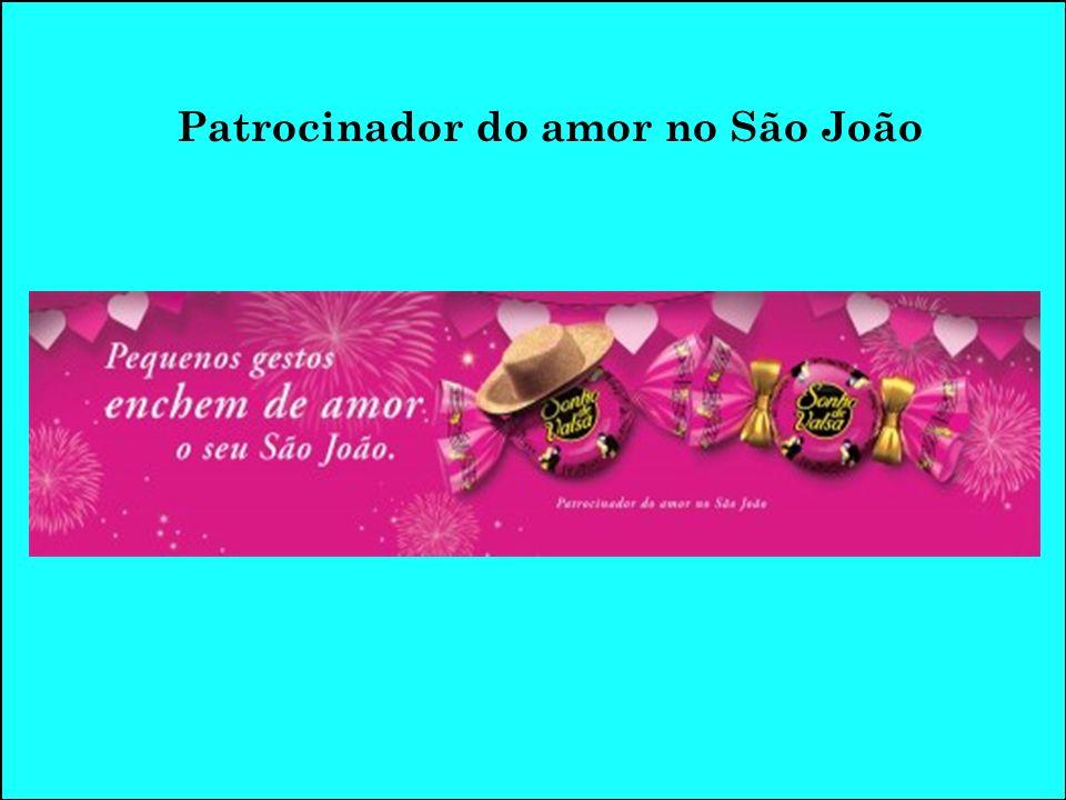 Patrocinador do amor no São João