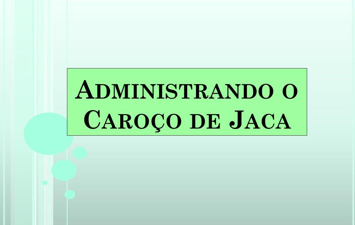 Caroço de Jaca O projeto consiste em seminários colaborativos com produção de textos a serem postados, debatidos e posteriormente levados a sala de aula.