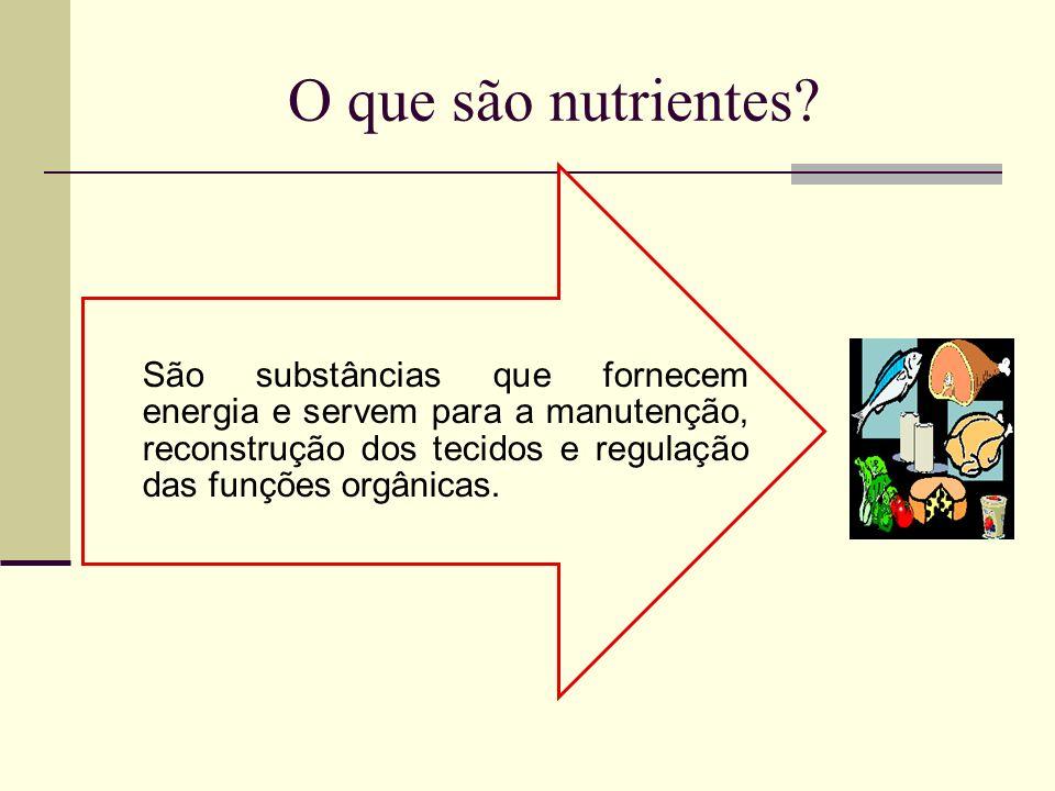 Nutrientes nutrientes CarboidratosproteínasSais mineraisLipídiosÁguaVitaminas