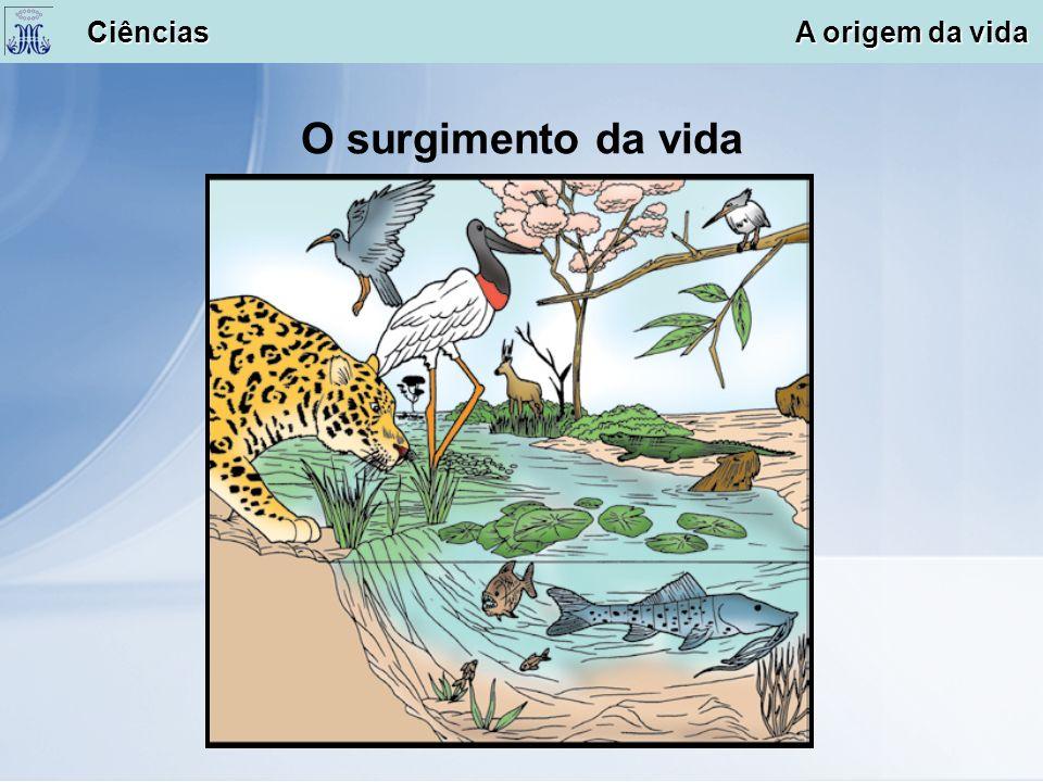 O surgimento da vida Ciências A origem da vida Ciências A origem da vida