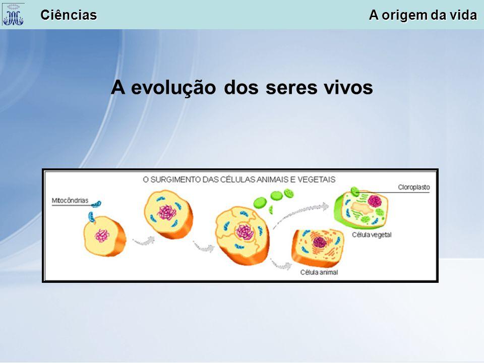 A evolução dos seres vivos Ciências A origem da vida Ciências A origem da vida