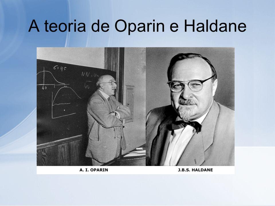 A teoria de Oparin e Haldane