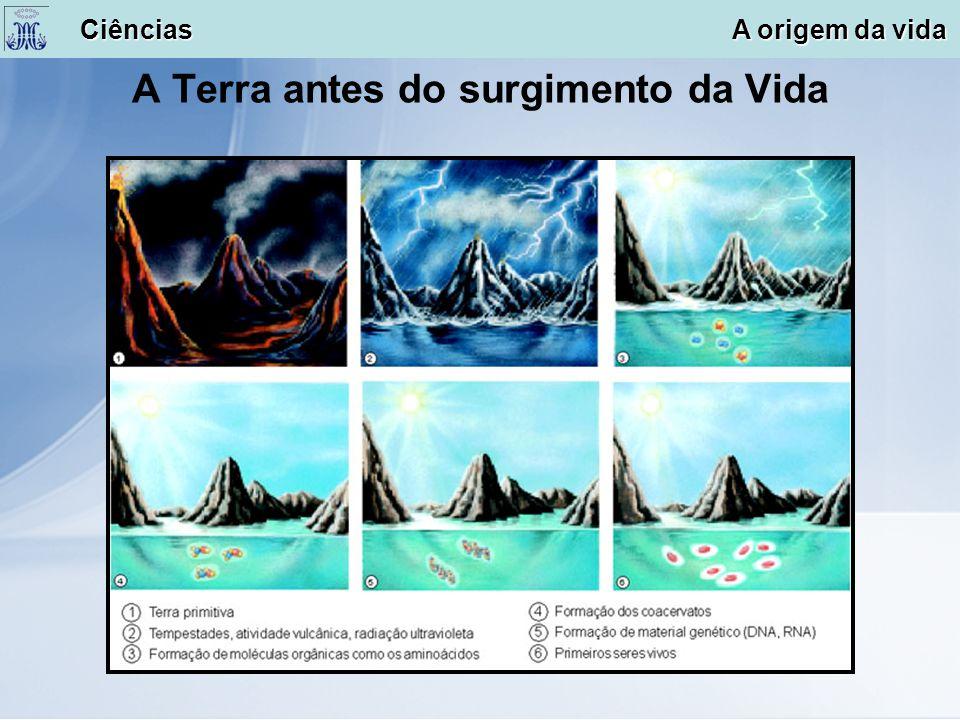 A Terra antes do surgimento da Vida Ciências A origem da vida Ciências A origem da vida