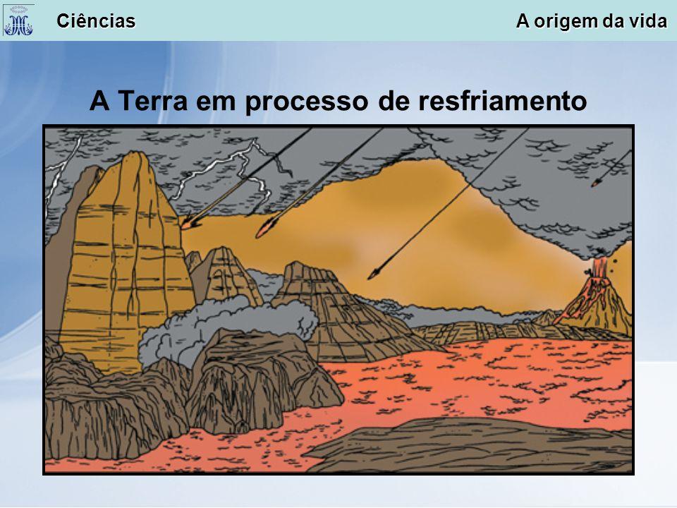 A Terra em processo de resfriamento Ciências A origem da vida Ciências A origem da vida