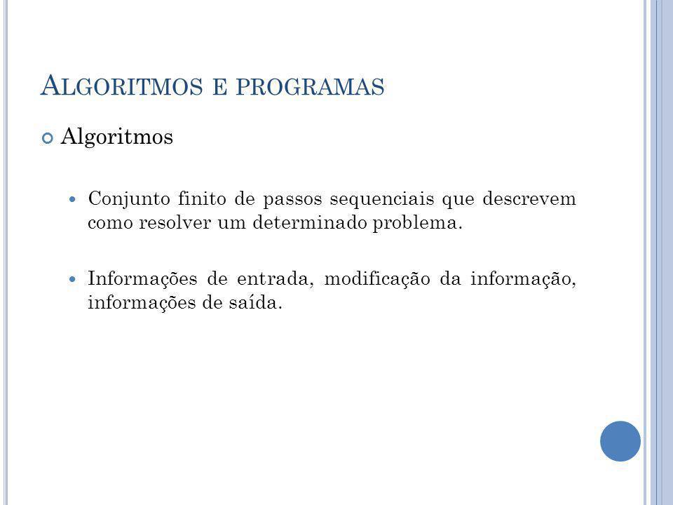 D ESENVOLVIMENTO DE PROGRAMAS Geração de código-fonte Codificação em alguma linguagem de programação Editores