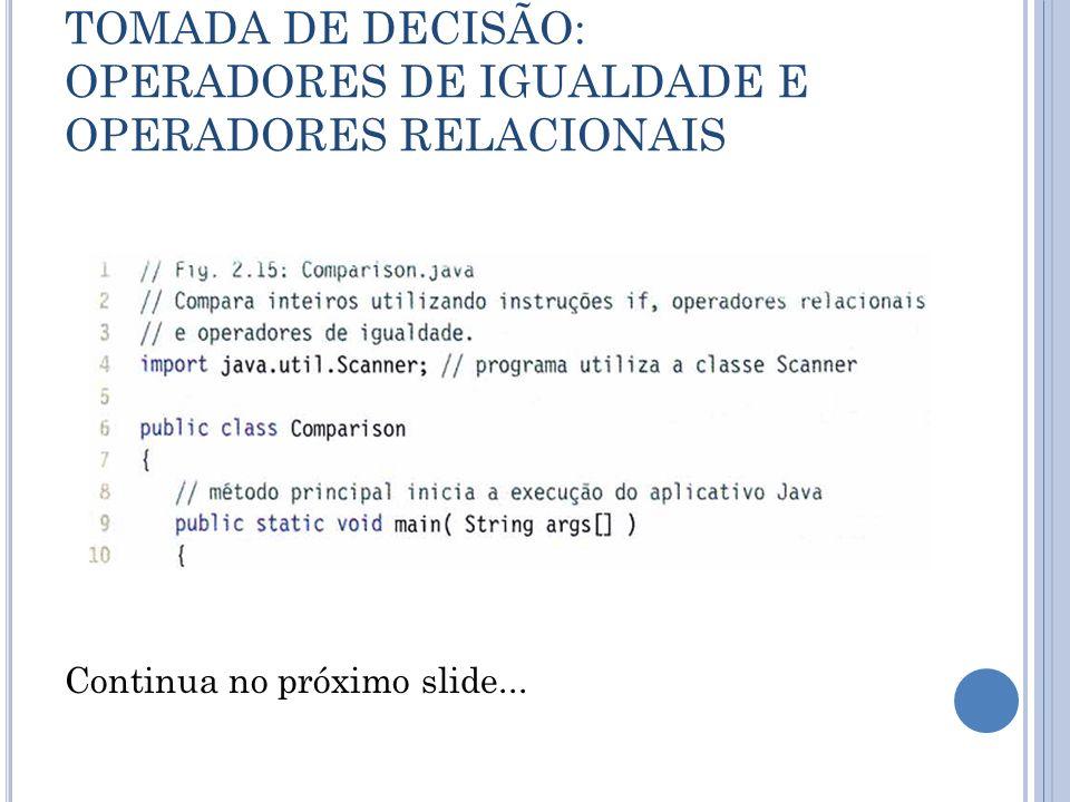 Continua no próximo slide...