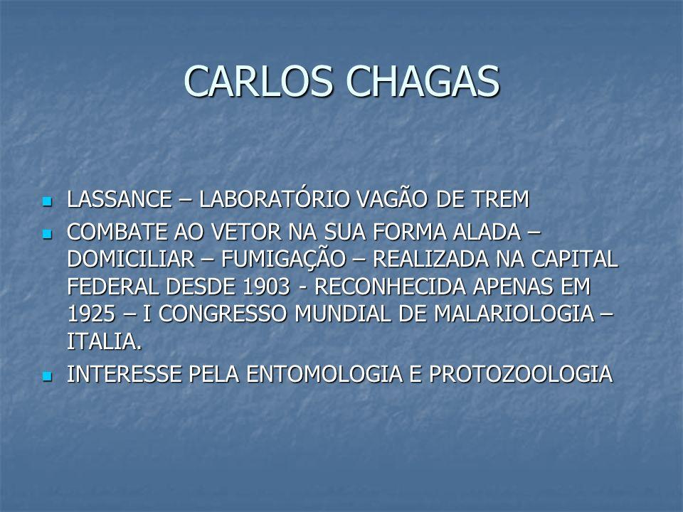 CARLOS CHAGAS LASSANCE – LABORATÓRIO VAGÃO DE TREM LASSANCE – LABORATÓRIO VAGÃO DE TREM COMBATE AO VETOR NA SUA FORMA ALADA – DOMICILIAR – FUMIGAÇÃO –