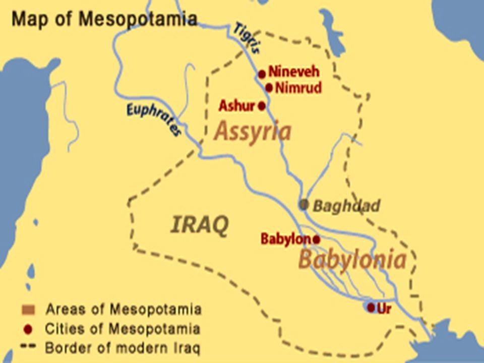 Assíria – Região montanhosa no alto do rio tigre, ao norte da mesopotâmia, eram como lobo entre ovelhas Assíria – Região montanhosa no alto do rio tigre, ao norte da mesopotâmia, eram como lobo entre ovelhas Descendentes de Assur – 2º filho de Noé Descendentes de Assur – 2º filho de Noé Usavam política de submissão dos inimigos com intuito de diminuir as revoltas dos conquistados Usavam política de submissão dos inimigos com intuito de diminuir as revoltas dos conquistados