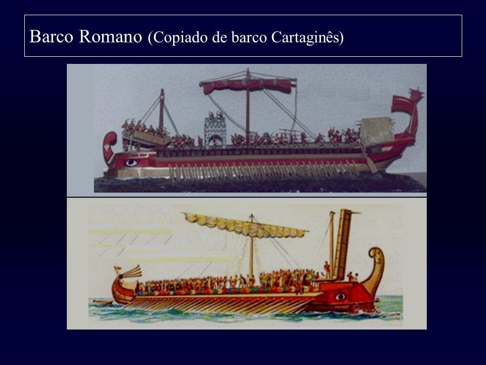 Barco Romano (Copiado de barco Cartaginês)