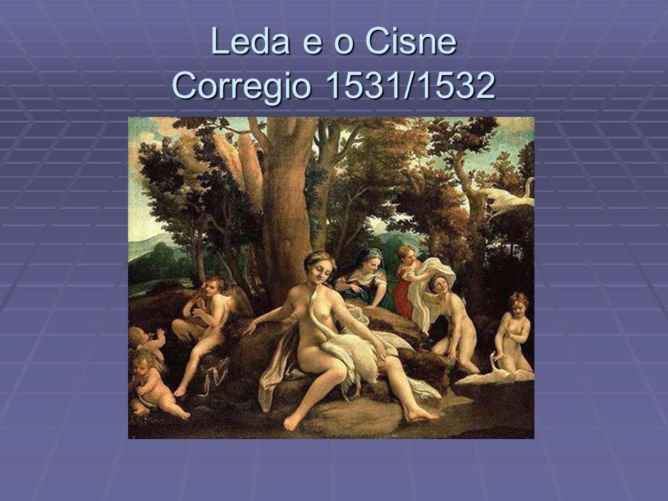 Leda e o Cisne Corregio 1531/1532