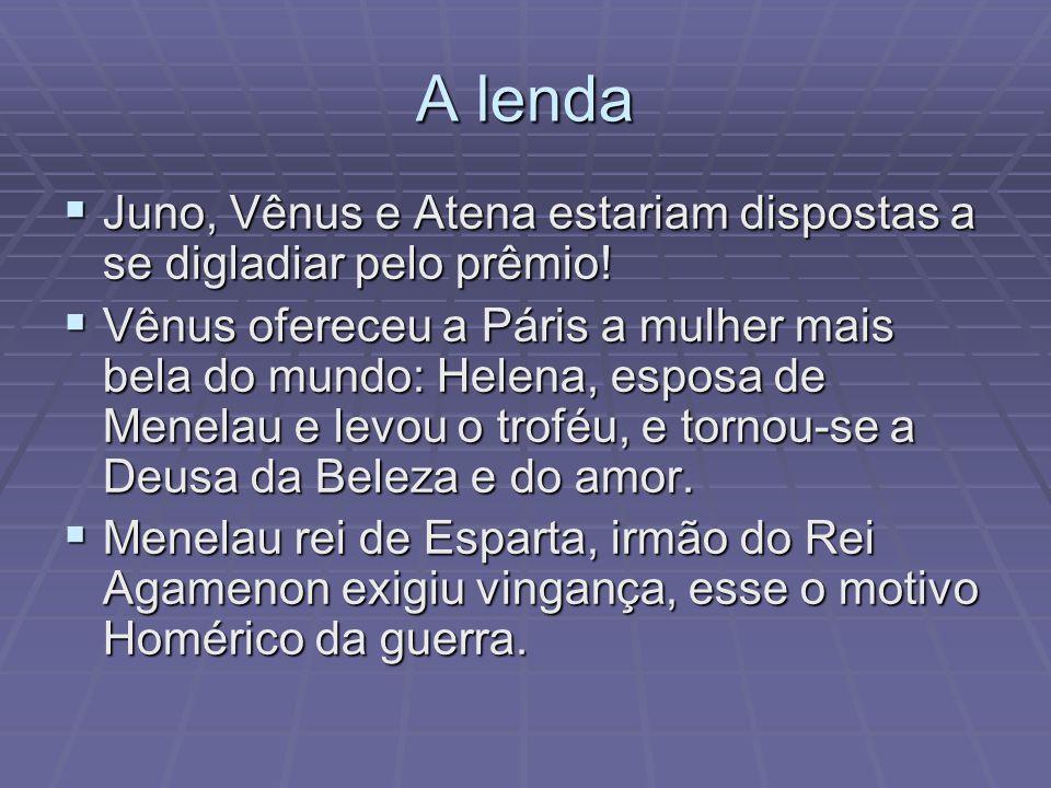 A lenda Juno, Vênus e Atena estariam dispostas a se digladiar pelo prêmio! Juno, Vênus e Atena estariam dispostas a se digladiar pelo prêmio! Vênus of