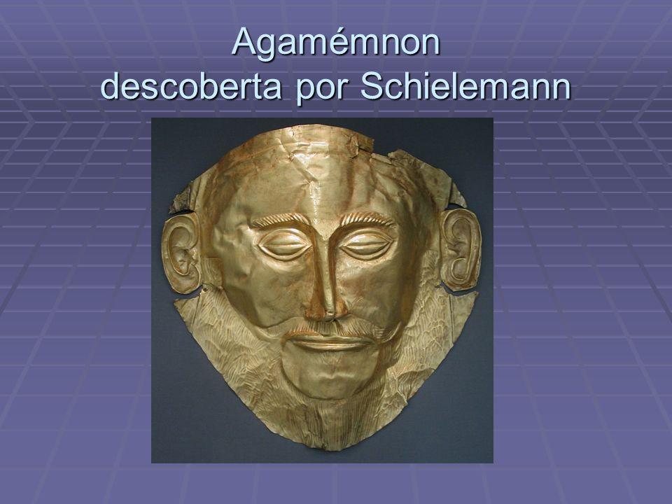 Agamémnon descoberta por Schielemann