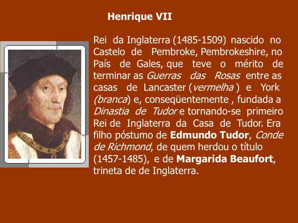 Rei da Inglaterra (1485-1509) nascido no Castelo de Pembroke, Pembrokeshire, no País de Gales, que teve o mérito de terminar as Guerras das Rosas entr