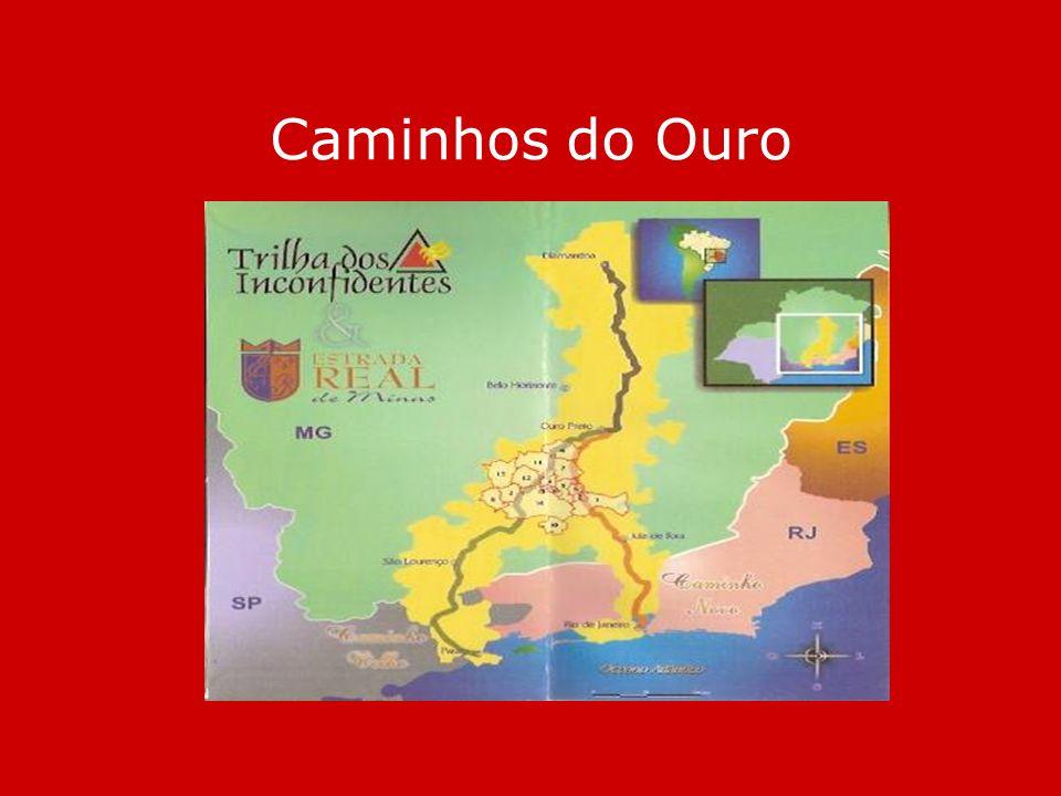 O Sistema Colonial As Minas Gerais no século XVIII > principal região da Colônia Mercantilismo >exclusividade exploração da colônia