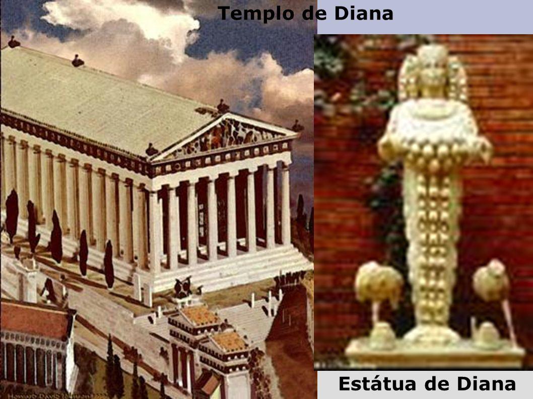 Estátua de Diana Templo de Diana