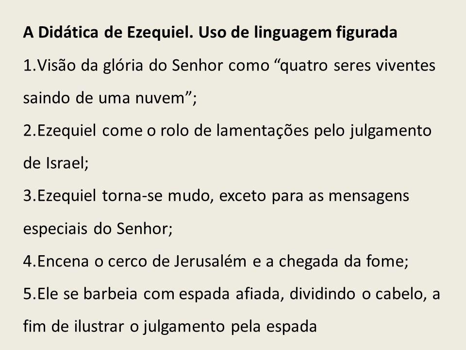 A Didática de Ezequiel.Uso de linguagem figurada 6.