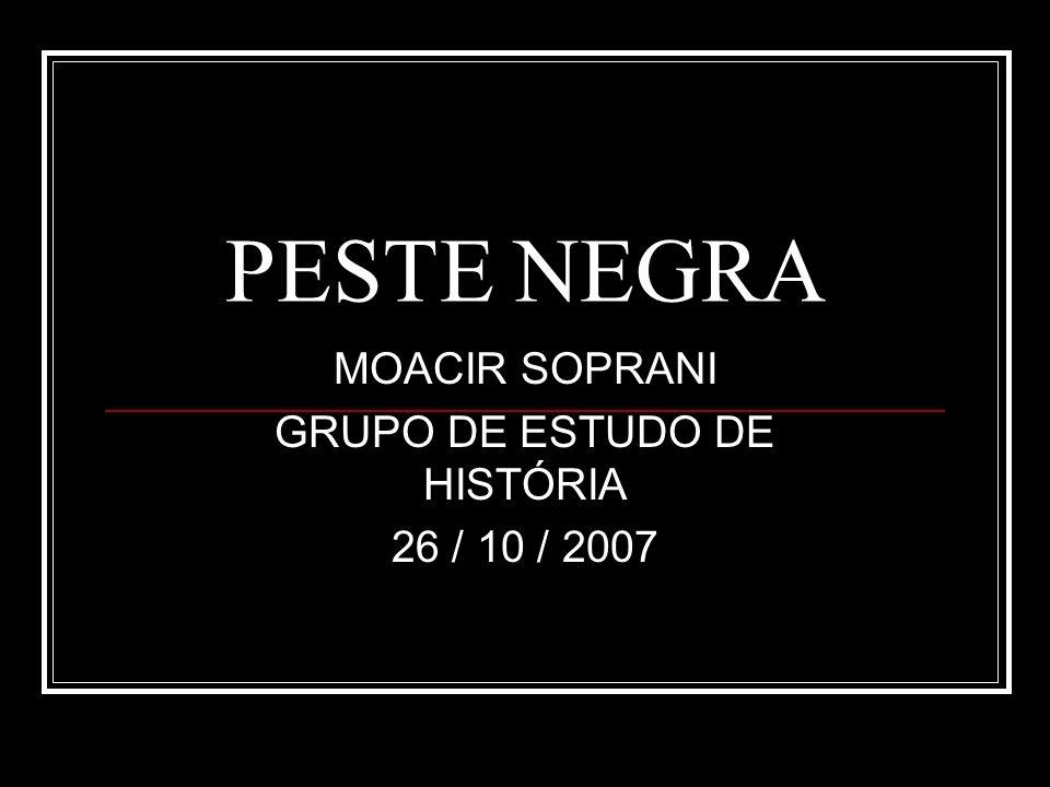 PESTE NEGRA CAUSAS DA DOENÇA À ÉPOCA CONTÁGIO PELO OLHAR DO PACIENTE, CASTIGO DE DEUS.
