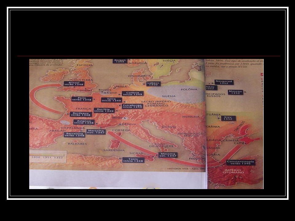 GUY DE CHAULIAC A grande mortandade teve início em Avignon em janeiro de 1348.
