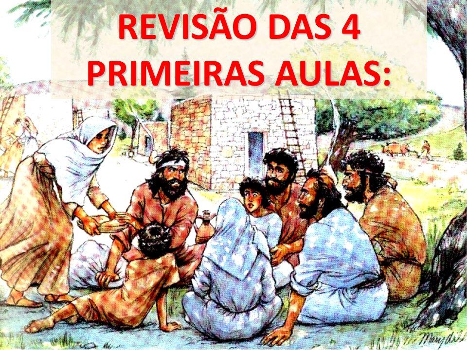 REVISÃO DAS 4 PRIMEIRAS AULAS: