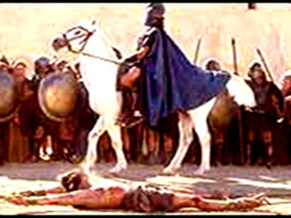 MORTE DOS APÓSTOLOS TiagoDecapitado ToméFlechado AndréCrucificado em X Pedro Crucificado Bartolomeu Esfolado vivo PauloDecapitado