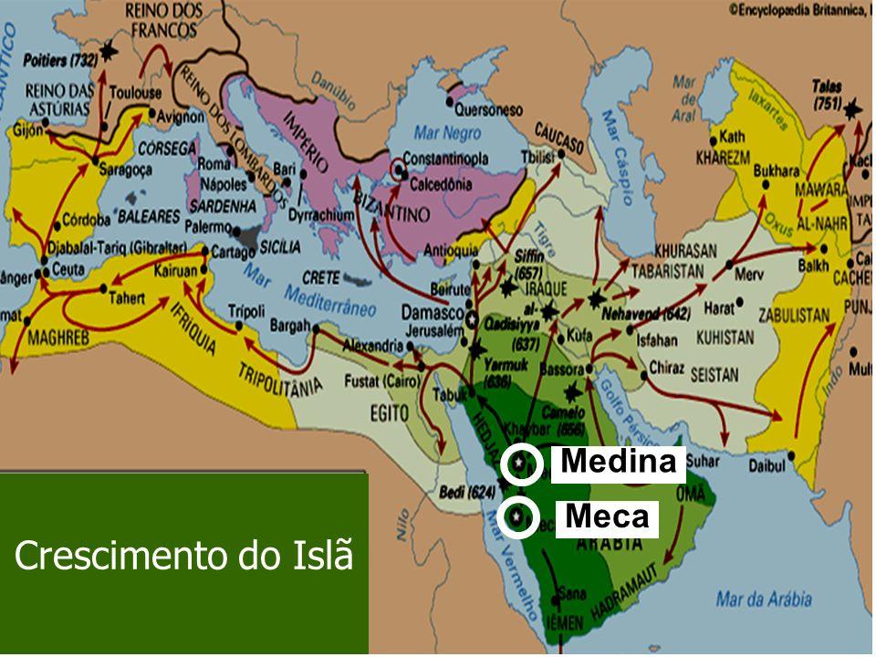 Crescimento do Islã Meca Medina