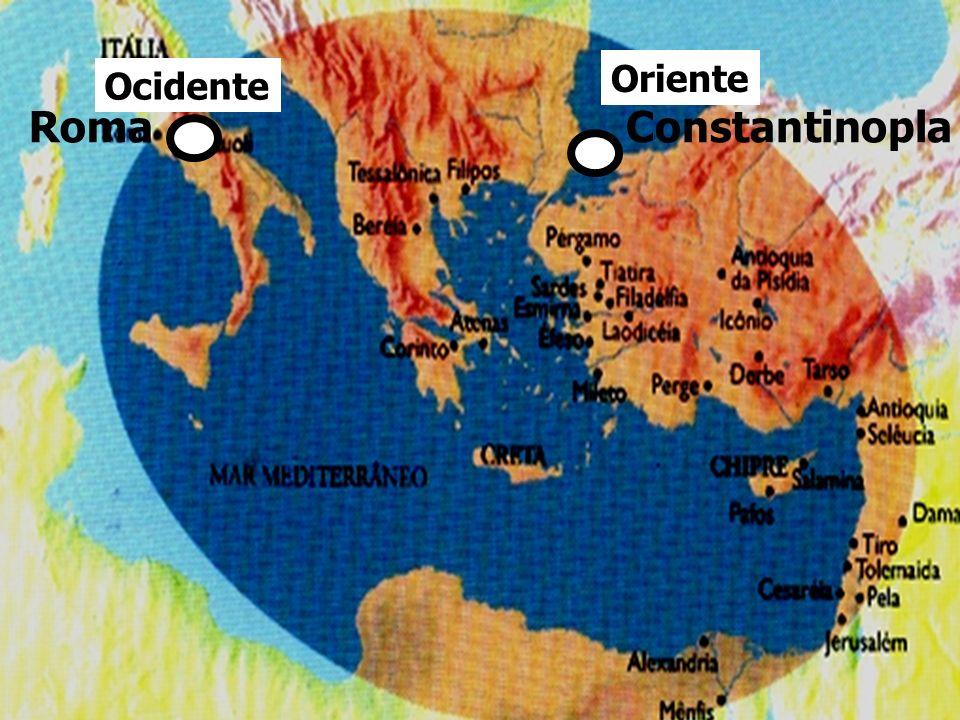 Constantinopla Oriente Ocidente Roma