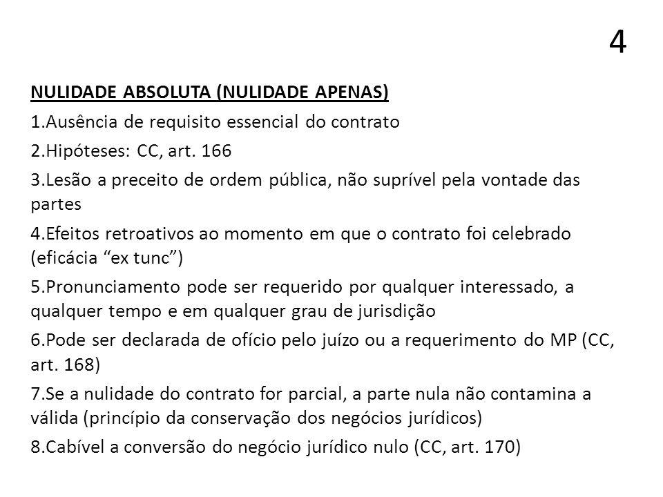 15 GARANTIA DE EXECUÇÃO DE OBRIGAÇÃO A PRAZO 1.Aplicável em contratos bilaterais/sinalagmáticos 2.CC.