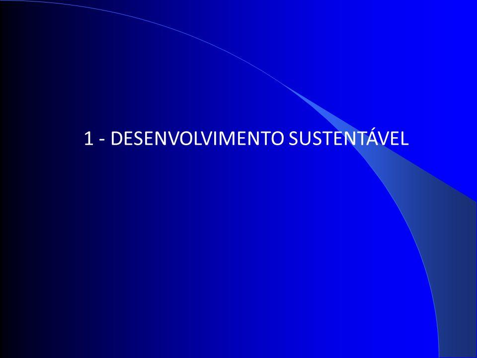 1 - DESENVOLVIMENTO SUSTENTÁVEL