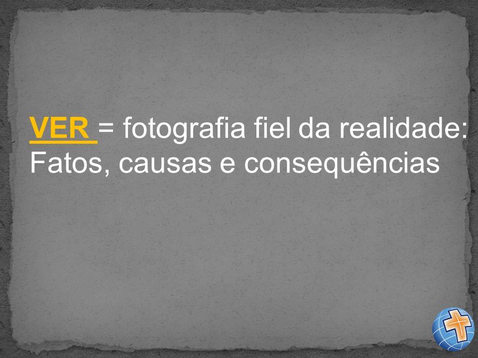 VER = fotografia fiel da realidade: Fatos, causas e consequências