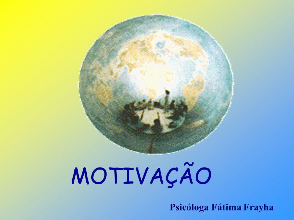 MOTIVAÇÃO Psicóloga Fátima Frayha