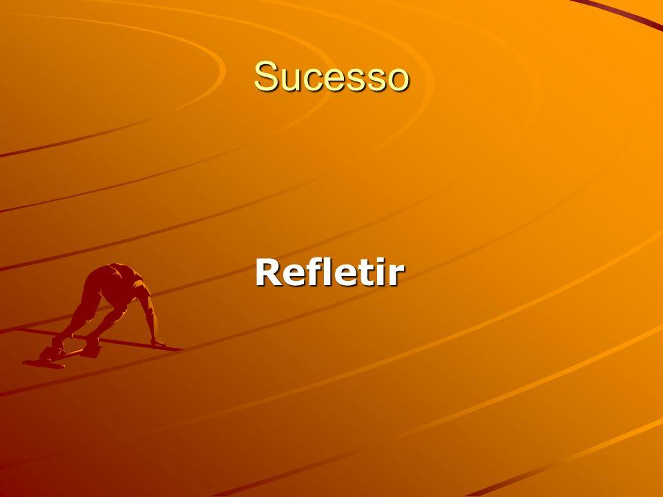 Sucesso Refletir Refletir