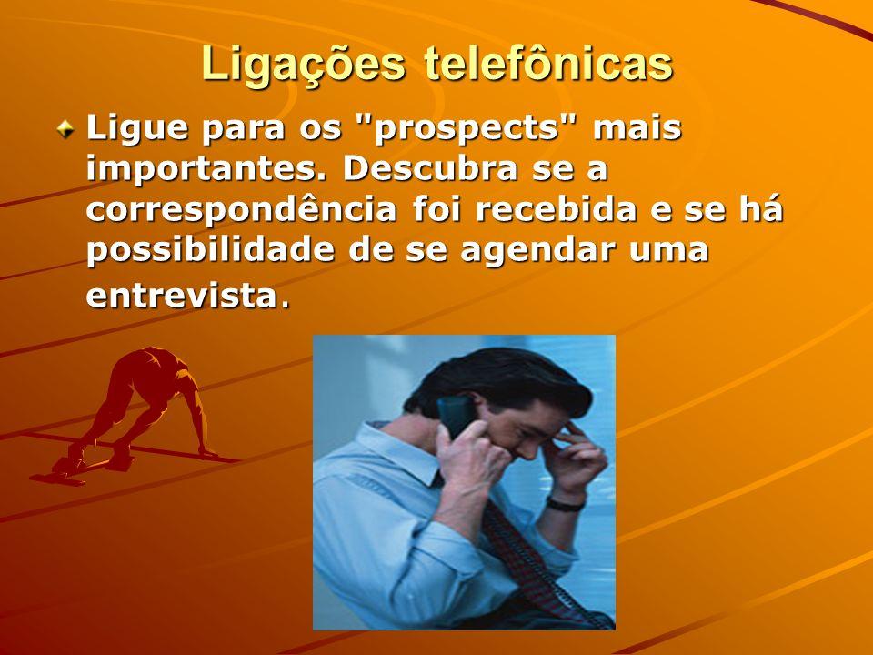 Ligações telefônicas Ligue para os