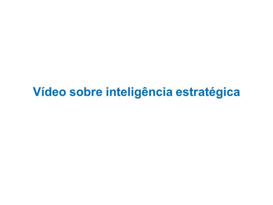 Vídeo sobre inteligência estratégica