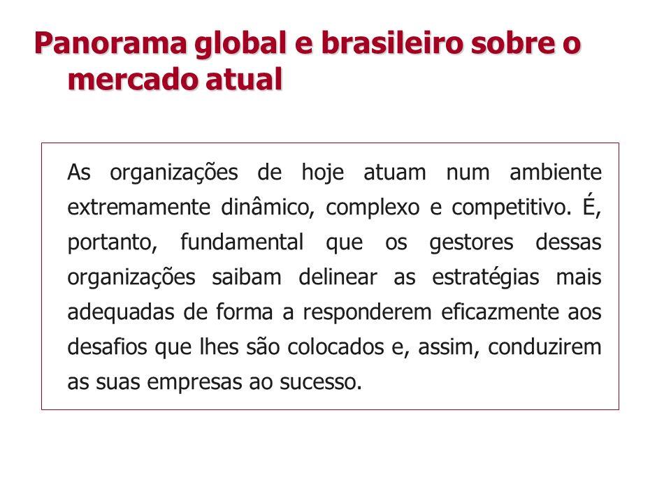 As organizações de hoje atuam num ambiente extremamente dinâmico, complexo e competitivo.