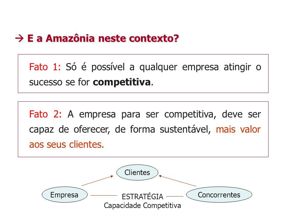 Fato 1: Só é possível a qualquer empresa atingir o sucesso se for competitiva.