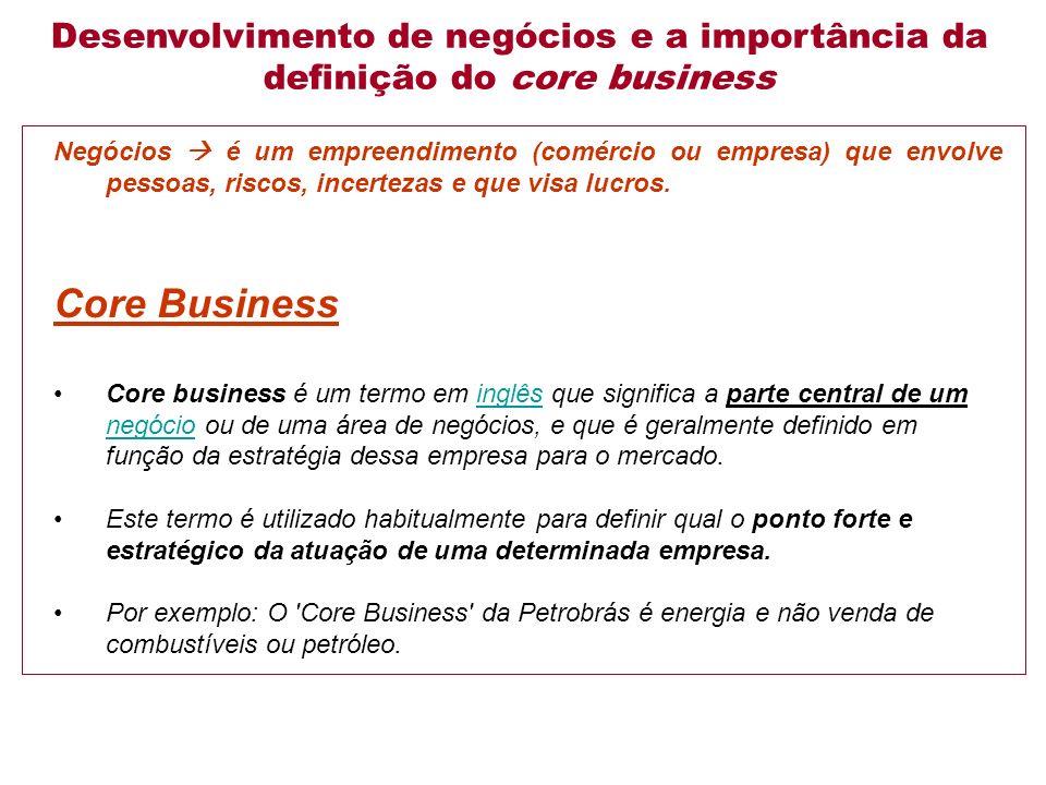 Negócios é um empreendimento (comércio ou empresa) que envolve pessoas, riscos, incertezas e que visa lucros.
