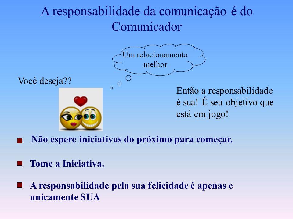 O Bom Comunicador. É quando a comunicação entre as pessoas está em Rapport!! Você sabe o que é Rapport? Rapport é está em perfeita sintonia com alguém