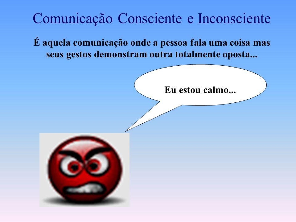 O PROCESSO DE COMUNICAÇÃO OCORRE EM MÚLTIPLOS NÍVEIS SIMULTÂNEOS: -Consciente / volutária -Inconsciente /involuntária POR MEIO DE MÚLTIPLOS CANAIS: –