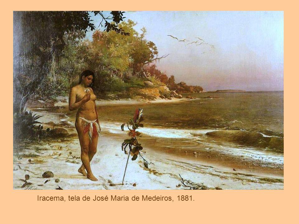 Iracema, tela de José Maria de Medeiros, 1881.