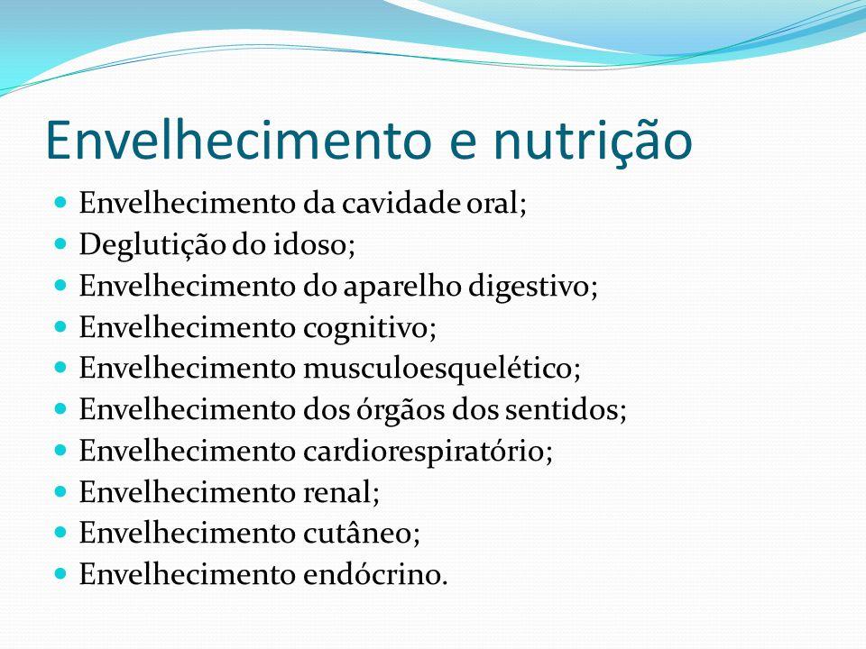 Cavidade oral e deglutição Mastigação Estímulo gustativo Ação enzimática da saliva Engasgos Sensação de retenção de alimentos