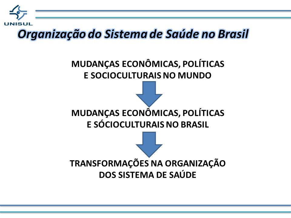 MUDANÇAS ECONÔMICAS, POLÍTICAS E SOCIOCULTURAIS NO MUNDO MUDANÇAS ECONÔMICAS, POLÍTICAS E SÓCIOCULTURAIS NO BRASIL TRANSFORMAÇÕES NA ORGANIZAÇÃO DOS S