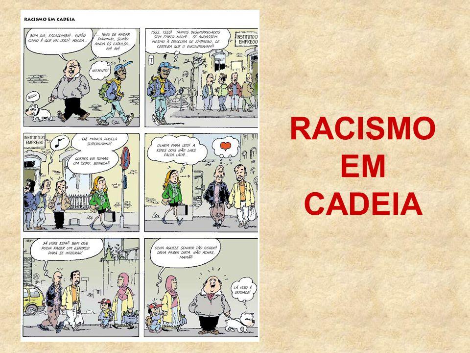 RACISMO EM CADEIA