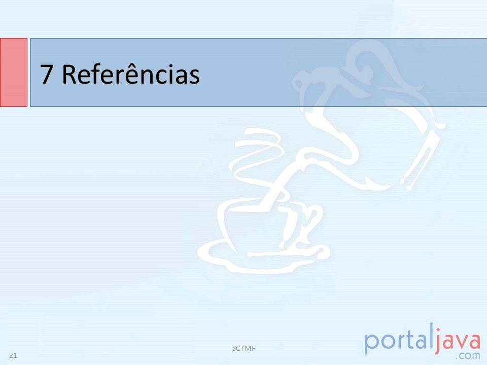 7 Referências MENEZES, P.B.